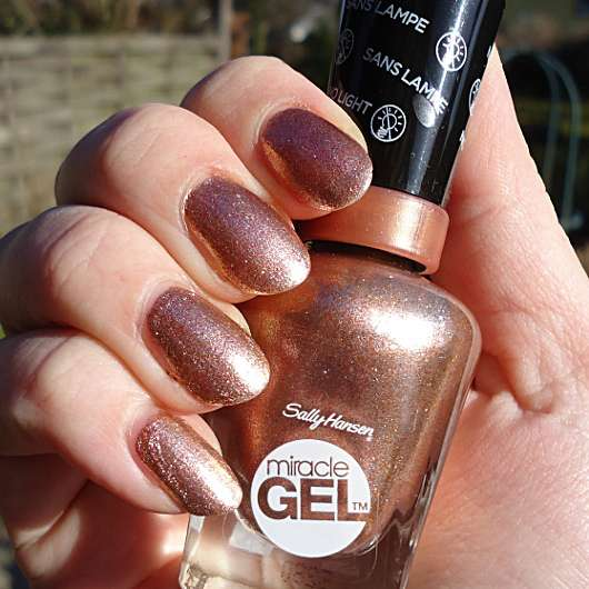 <strong>Sally Hansen</strong> Miracle Gel - Farbe: 660 Terra-Coppa