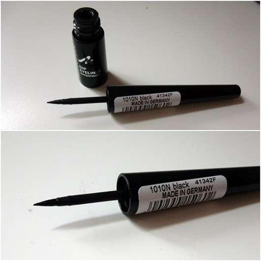 MANHATTAN Dip Eyeliner Waterproof, Farbe: 1010N Black