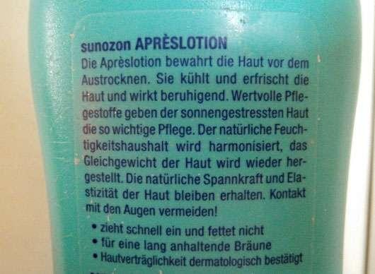 SunOzon Aprèslotion