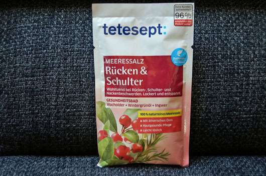 <strong>tetesept</strong> Meeressalz Rücken & Schulter Badezusatz