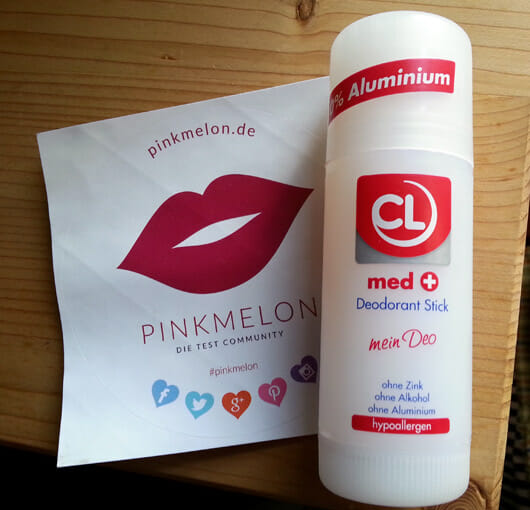CL med + Deodorant Stick