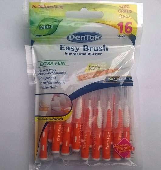 """DenTek Easy Brush Interdental-Bürsten Extra Fein """"Minze"""""""