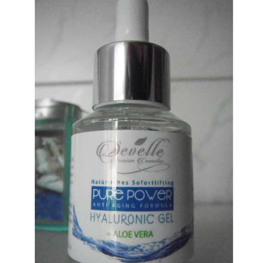 Develle Pure Power Hyaluronic Gel mit Aloe Vera