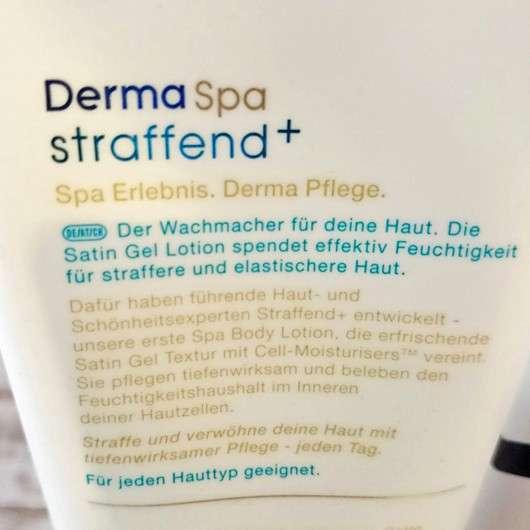 Dove DermaSpa Straffend+ Body Lotion