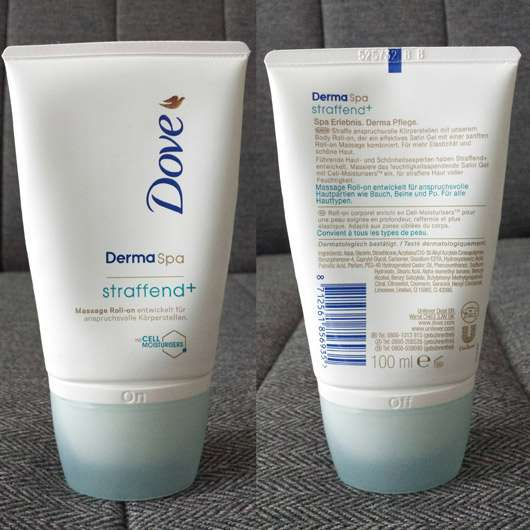 Dove DermaSpa Straffend+ Massage Roll-on
