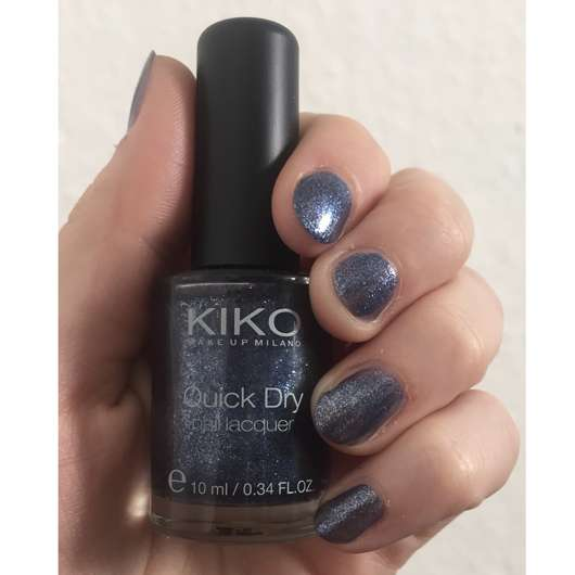 <strong>KIKO</strong> quick dry nail lacquer – Farbe: 856 Pearly Jeans