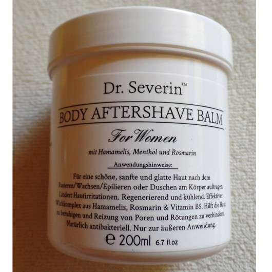 Dr. Severin Body Aftershave Balsam für Frauen