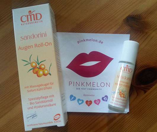 CMD Naturkosmetik Sandorini Augen Roll-On