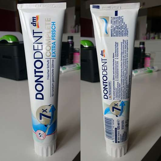 <strong>DONTODENT</strong> Complete Extra Frisch Zahncreme