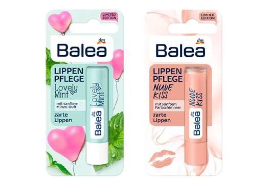 Neue Lippenpflege-Stifte von Balea