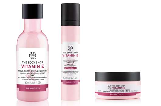 The Body Shop Vitamin E Gesichtspflegelinie