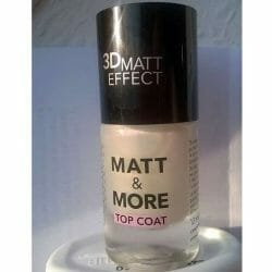 Produktbild zu Catrice Matt & More Top Coat