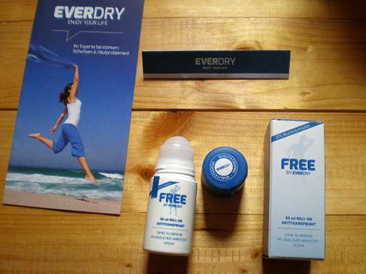 everdry Roll-On Free ohne Aluminiumsalze