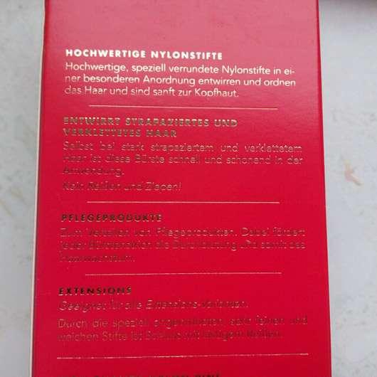 Hercules Sägemann Scalp Brush, Farbe: Rot