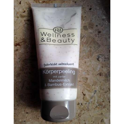 Wellness & Beauty Körperpeeling mit zarter Mandelmilch & Bambus-Extrakt