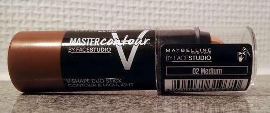 Maybelline Master Contour V-Shape Duo Stick Contour & Highlight, Farbe: 02 Medium