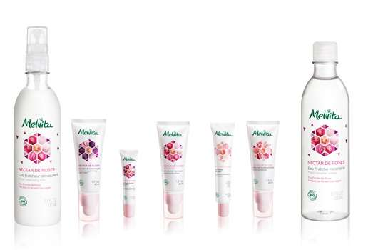 MELVITA NECTAR DE ROSES – Feuchtigkeits-Bad für die Haut