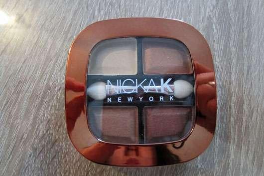 NICKA K NEW YORK Quad Eye Shadow, Farbe: NY075 Sierra