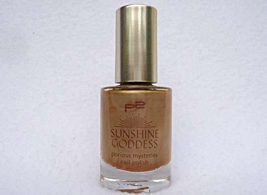 p2 sunshine goddess glorious mysteries nail polish, Farbe: 010 gold elixir (LE)