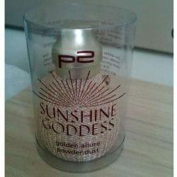 Produktbild zu p2 cosmetics sunshine goddess golden allure powder dust (LE)