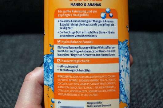 Pure & Basic Duschgel Mango & Ananas