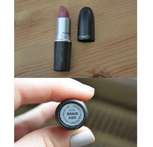 M.A.C. Lipstick, Farbe: Brave (Satin-Finish)