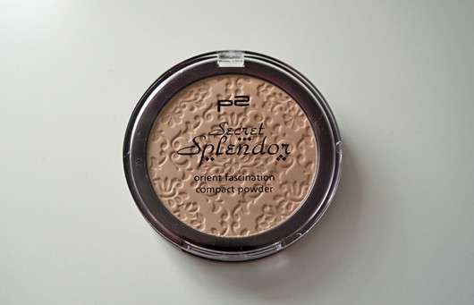 p2 secret splendor orient fascination compact powder, Farbe: 020 delicate touch (LE)