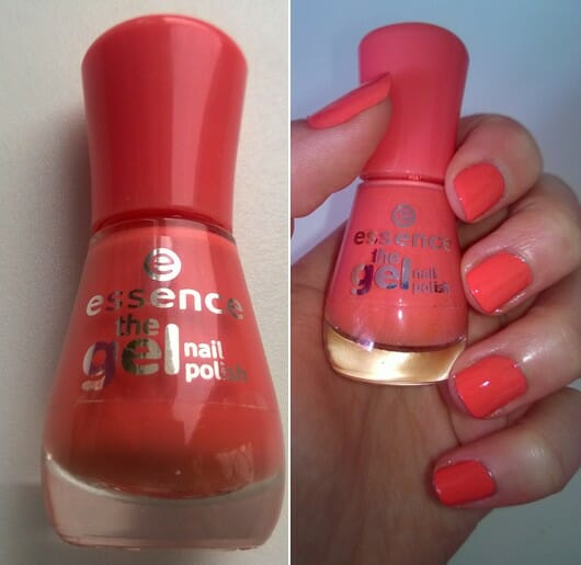 essence the gel nail polish, Farbe: 12 mandarine bay