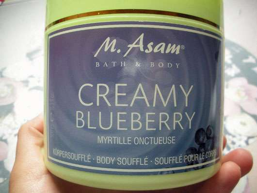 M. Asam Creamy Blueberry Körpersoufflé