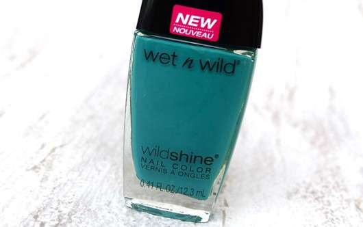 wet n wild Wild Shine Nail Color, Farbe: E483D Be More Pacific