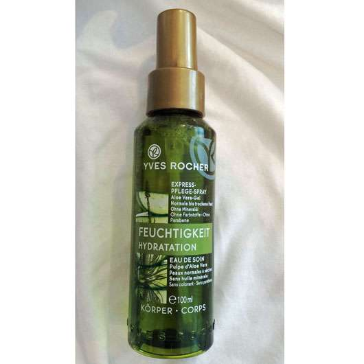 Yves Rocher Express-Pflege-Spray Aloe Vera-Gel