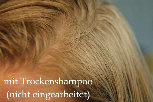 algemarina Trockenshampoo blond