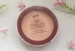 Produktbild zu p2 cosmetics sunshine goddess eternal deluxe bronzing highlighter – Farbe: refined golden (LE)