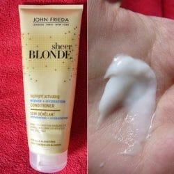 Produktbild zu JOHN FRIEDA® SHEER BLONDE Highlight Activating Repair + Hydration Conditioner