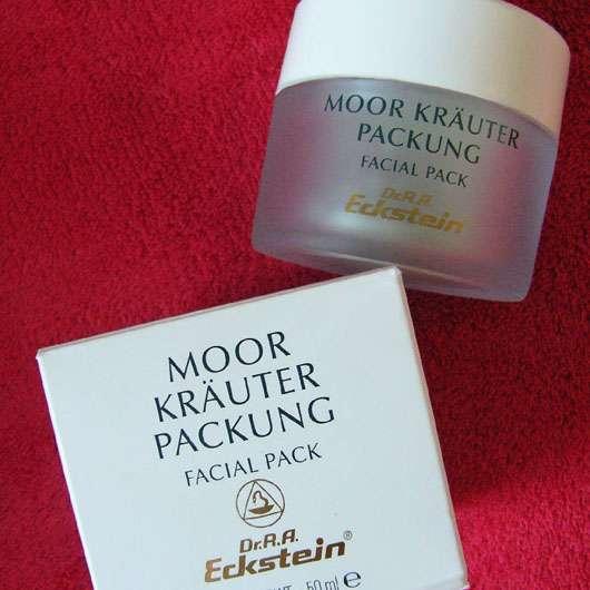 Dr. R.A. Eckstein BioKosmetik Moor Kräuter Packung