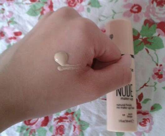 essence pure nude make-up, Farbe: 10 pure beige