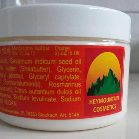 Heymountain Samba De Janeiro Body Cream