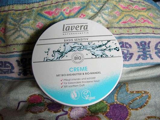 lavera Basis sensitiv Creme mit Bio-Sheabutter & Bio-Mandel