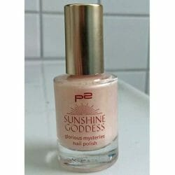 Produktbild zu p2 cosmetics sunshine goddess glorious mysteries nail polish – Farbe: 030 nude sensation (LE)