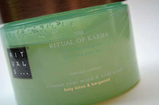 Rituals The Ritual of Karma cleanse your mind & body scrub (LE)