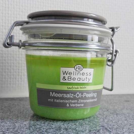 """Wellness & Beauty Meersalz-Öl-Peeling """"taufrisch belebt"""""""