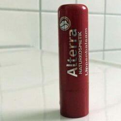 Produktbild zu Alterra Naturkosmetik Lippenbalsam – Farbe: 05 cherry & shine