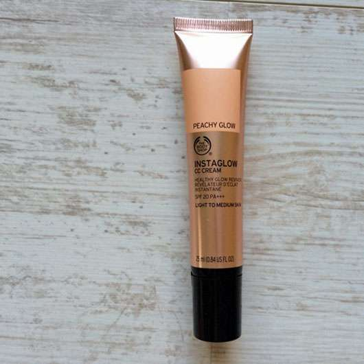 The Body Shop Instaglow CC Cream, Farbe: Peachy Glow
