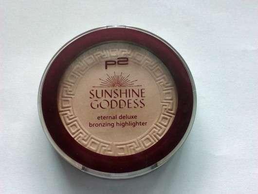 p2 sunshine goddess eternal deluxe bronzing highlighter, Farbe: 010 refined golden (LE)