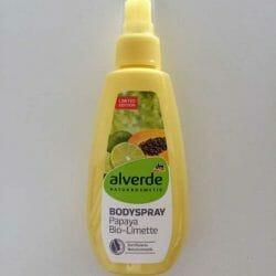 Produktbild zu alverde Naturkosmetik Bodyspray Papaya Bio-Limette (LE)
