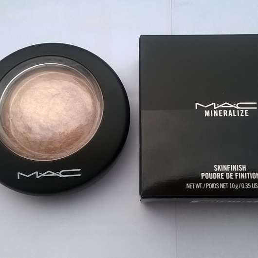 <strong>M·A·C</strong> Mineralize Skinfinish – Farbe: Soft & Gentle