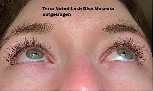 Terra Naturi Lash Diva Mascara, Farbe: 01 black (LE)