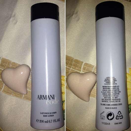 Giorgio Armani Code Femme Body Lotion