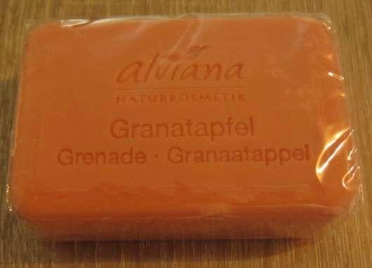 alviana Pflanzenölseife Granatapfel