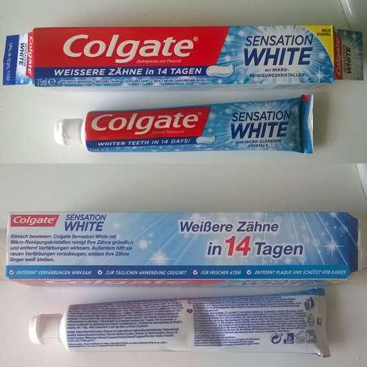 Colgate Sensation White Zahncreme